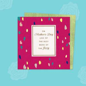 Mother's Day Design Compete With Its Gold Envelope