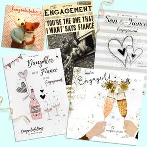 A Selection Of Cards To Show The Depth Of Range In Our Engagement Section