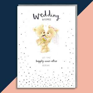 Wedding Day Card Sitting On A Display Shelf