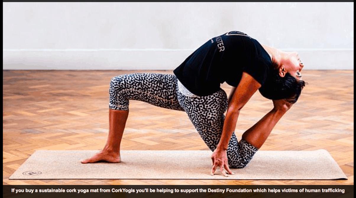 Ethical yoga mat company giveback to India