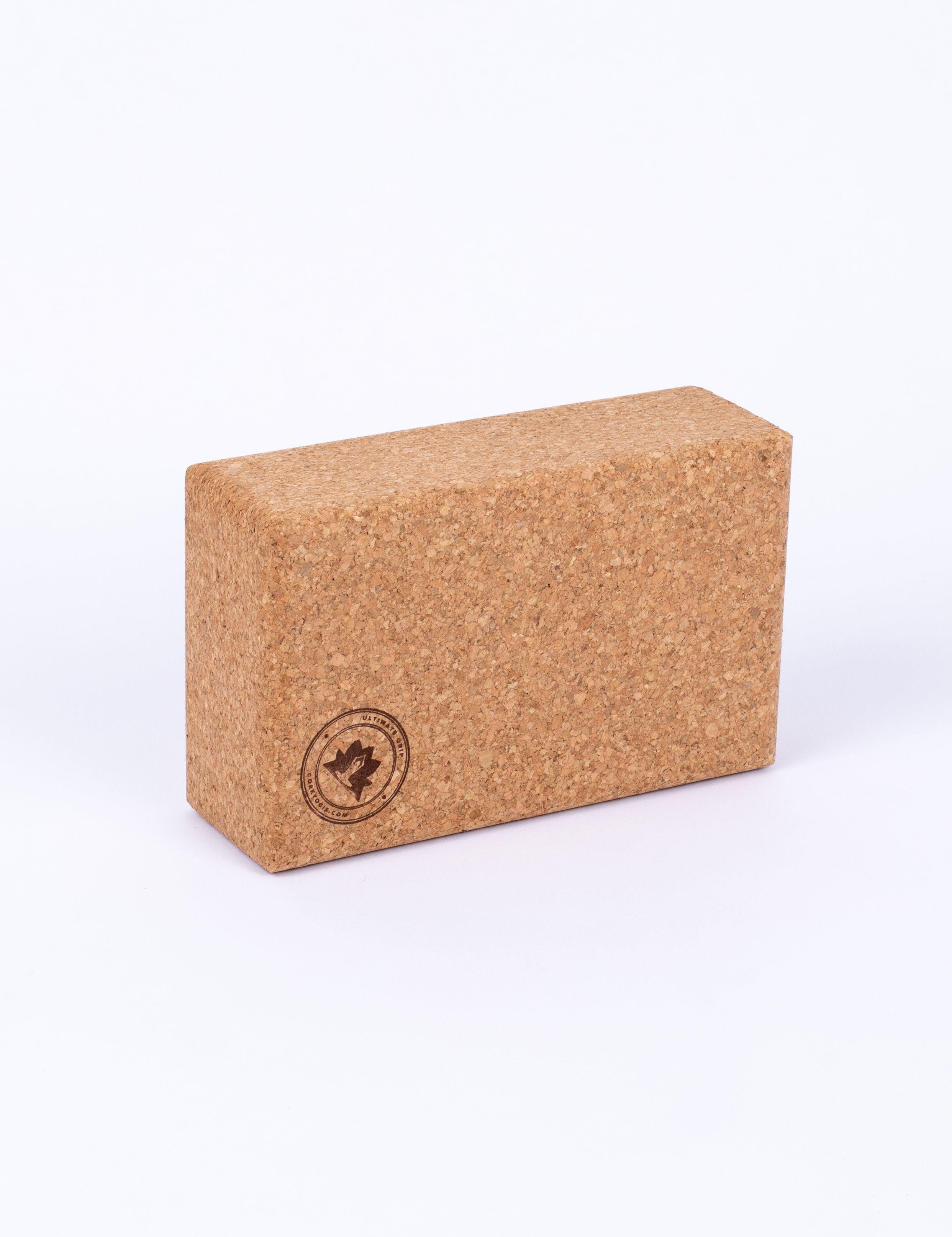 Cork eco friendly mat and block