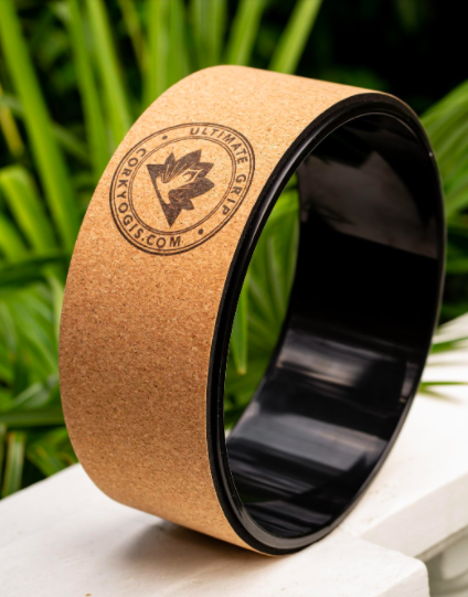 CorkYogis Cork Yoga Wheel Eco sustainable