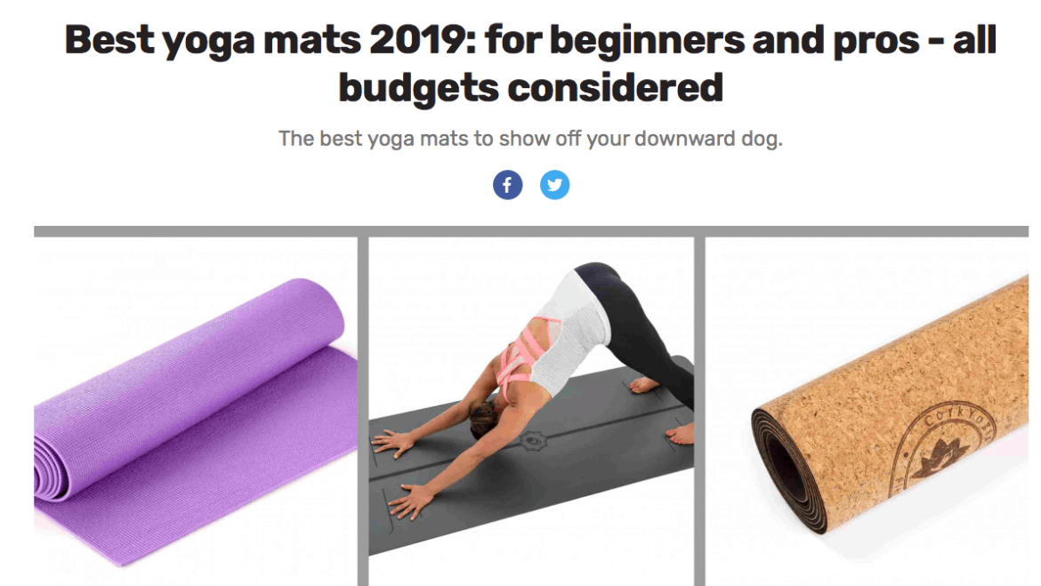 Cork yoga mat reviews best mats uk eco