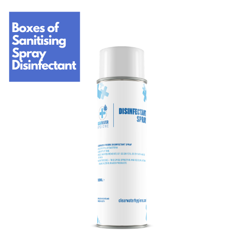 disinfectant sanitiser spray