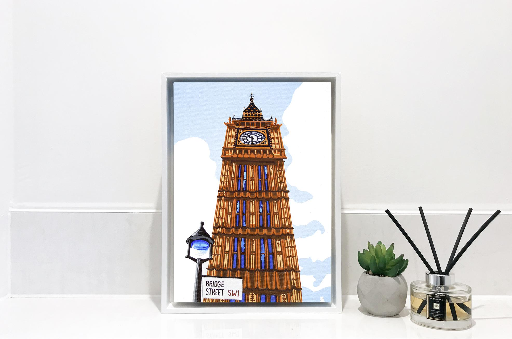 Big Ben London contemporary painting