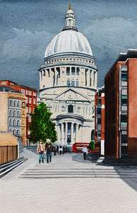 St Paul's art print
