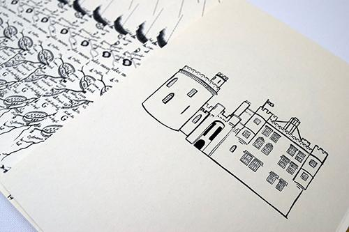 Dalhousie Castle illustration