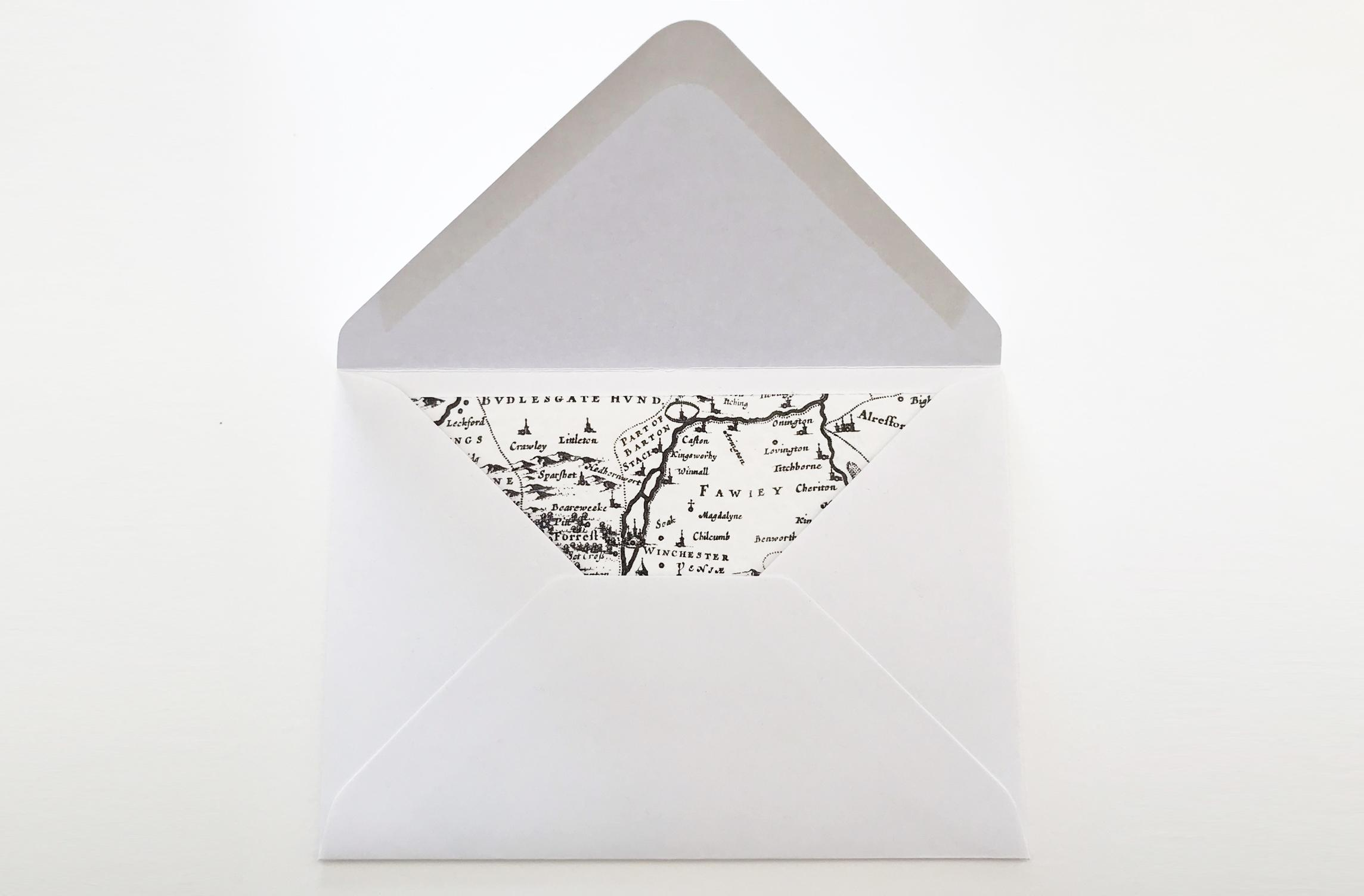 Map notecards