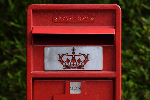 Don't forget the postage