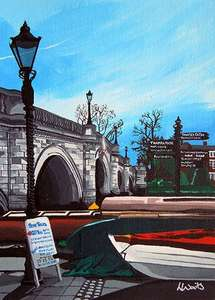 Richmond Bridge art print