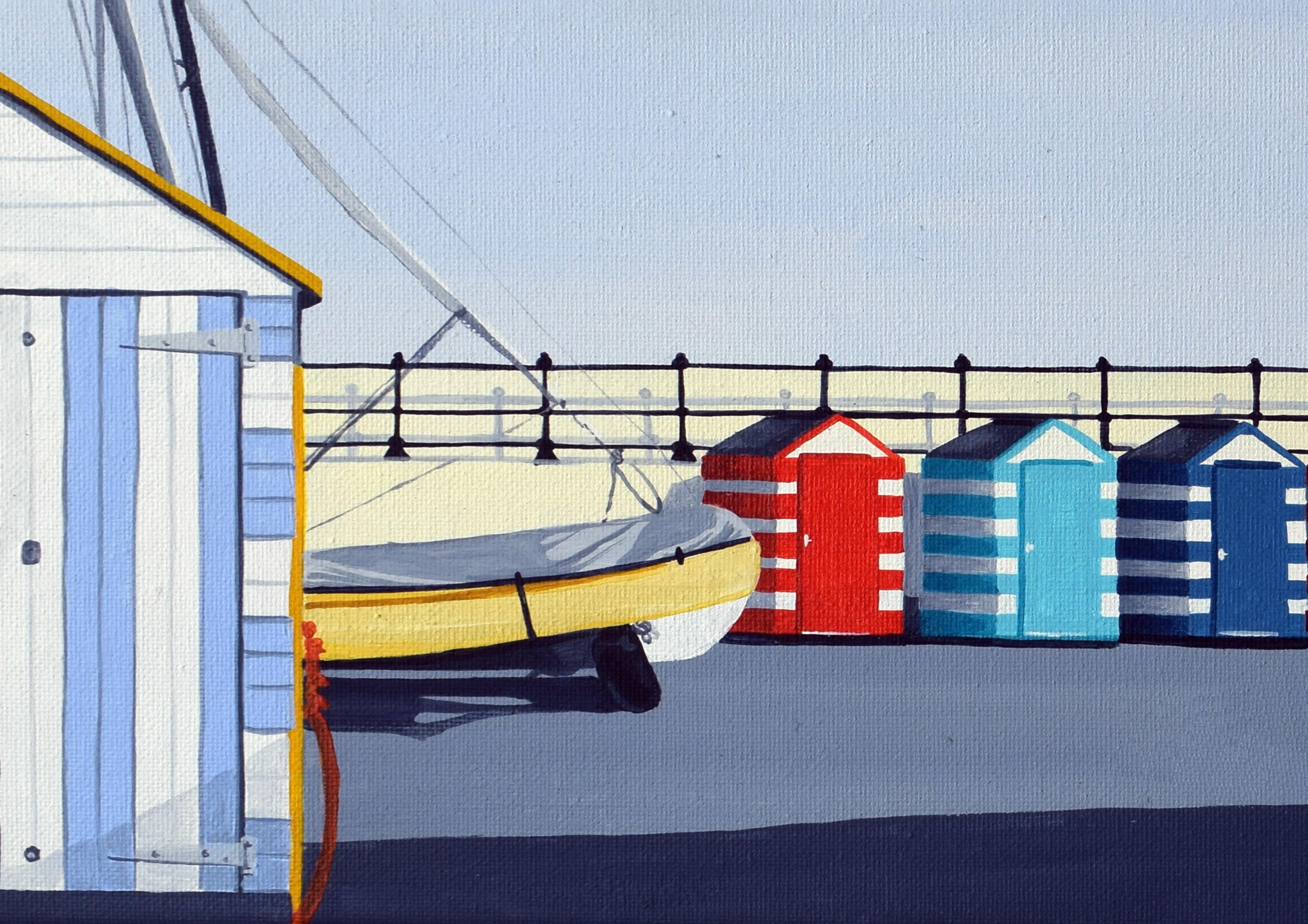 North Berwick Boat Yard and Beach Huts