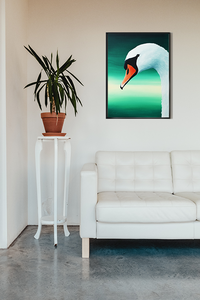 Swan contemporary painting
