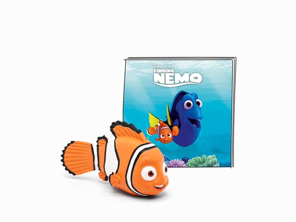 Finding Nemo story booklet and Nemo figure.