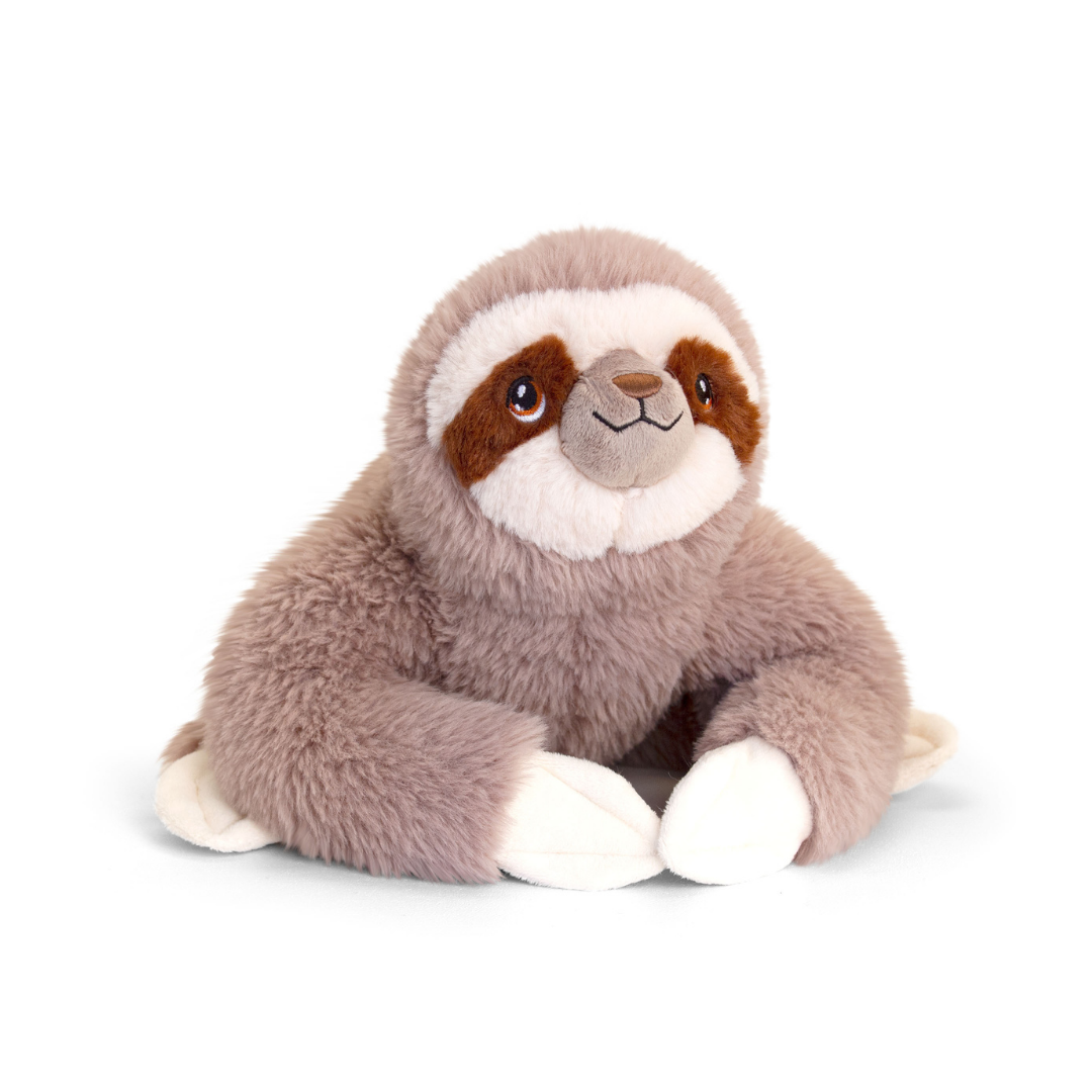 Cuddly brown sloth toy