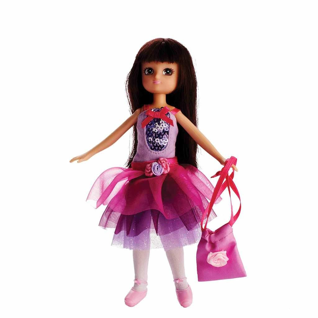 Spring Celebration Ballet Lottie Doll in tutu and leotard.