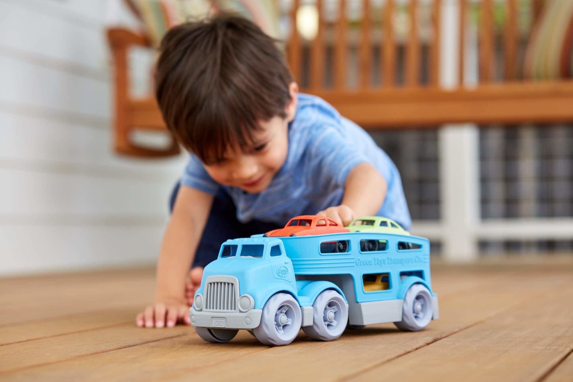 Green Toys Car Transporter made from recycled plastic