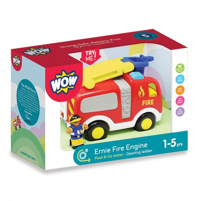 Packaging for fire truck set.