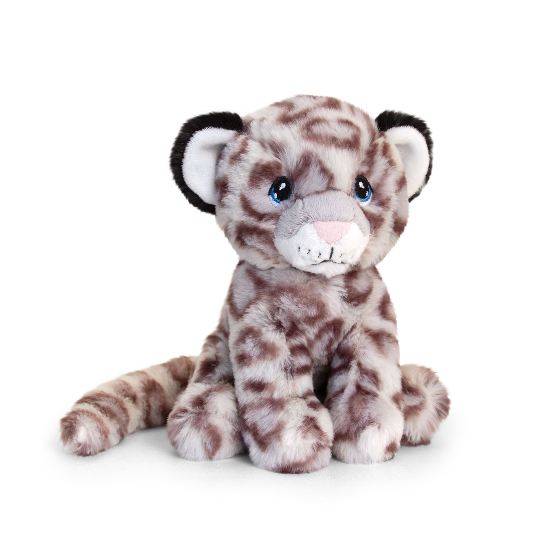 Light coloured snow-leopard toy.