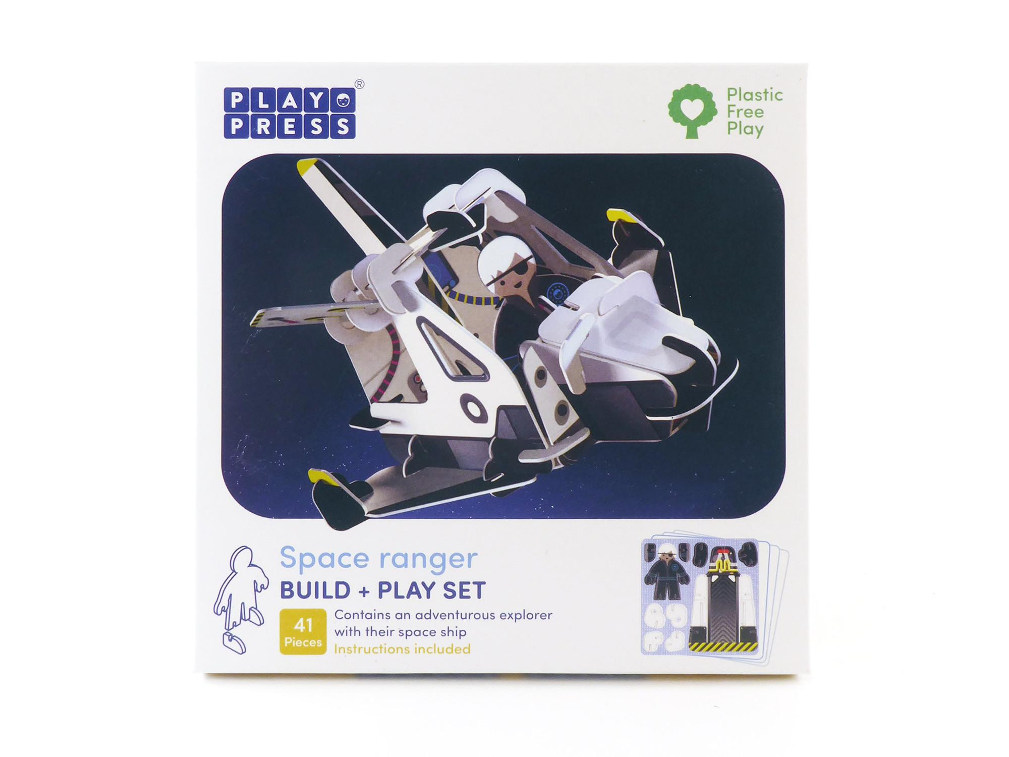 Box showing Play Press space ranger product.