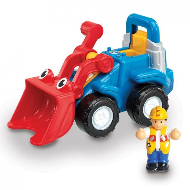 Digger play set for young children
