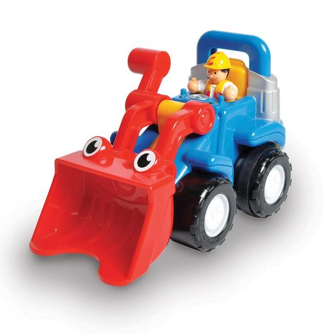 Digger play toy.