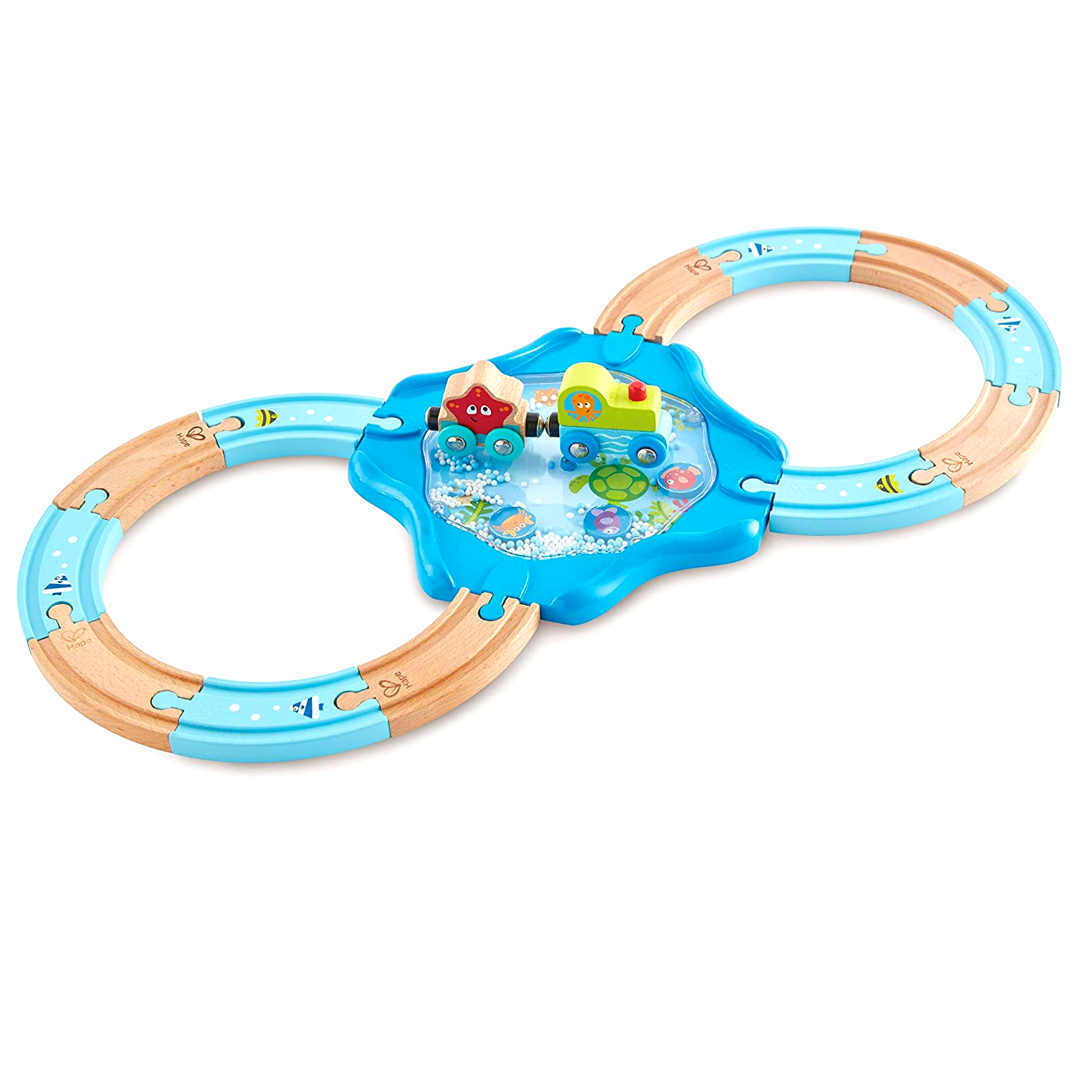 Hape Figure of eight underwater themed railway set