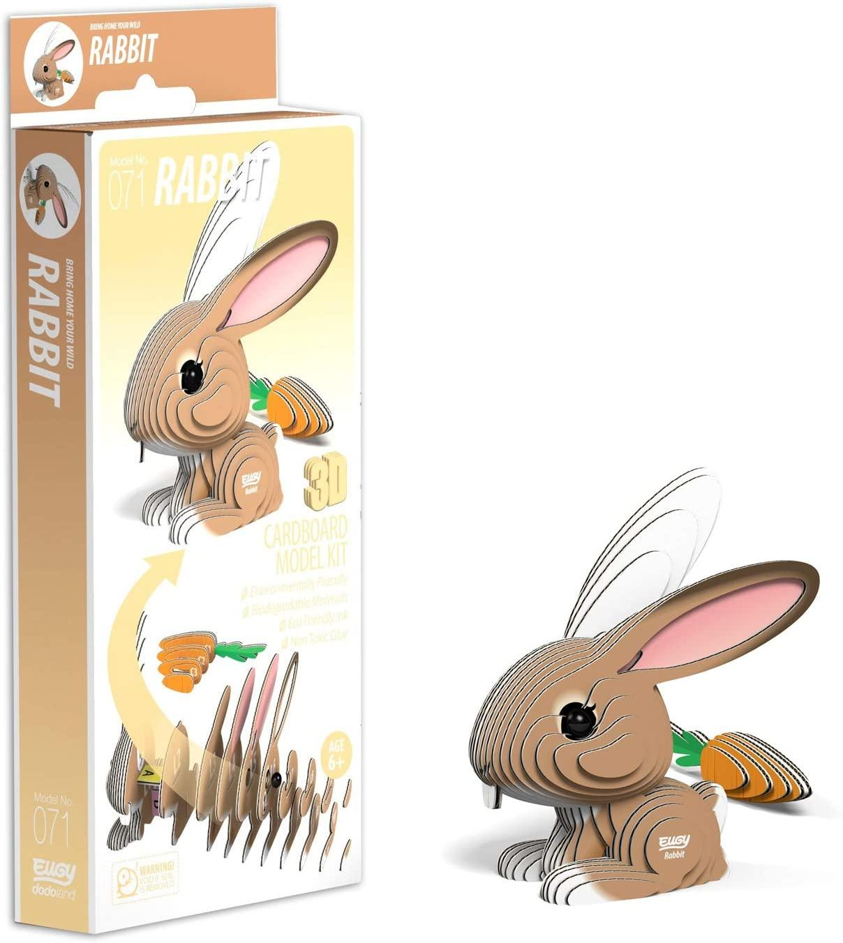 Packaging for Eugy rabbit.