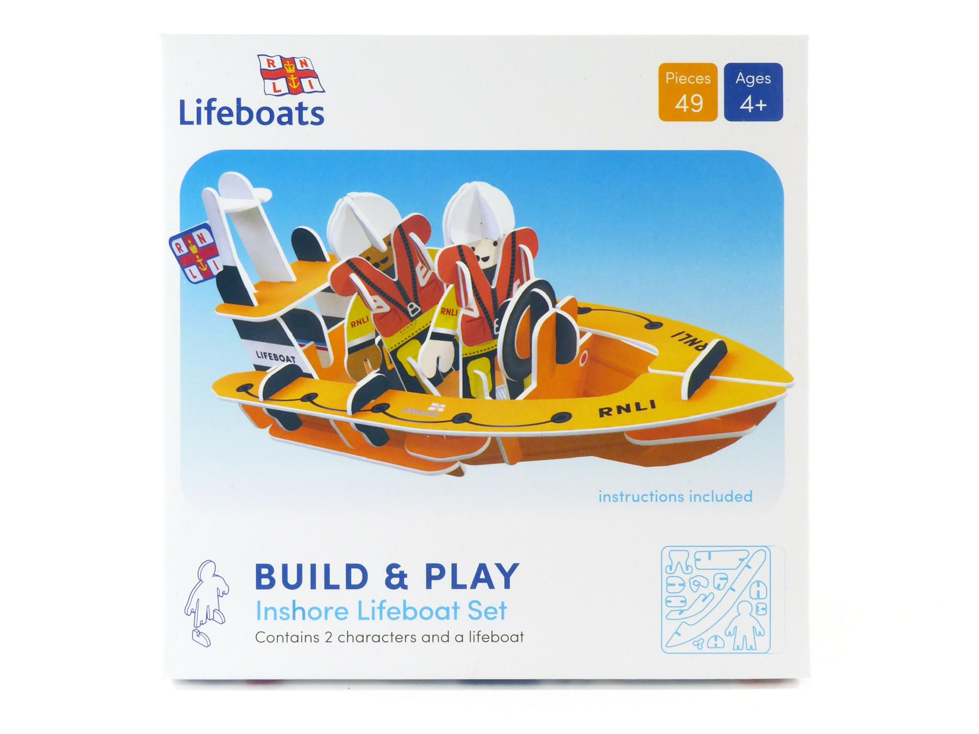 Box for RNLI Playboard Playpieces.