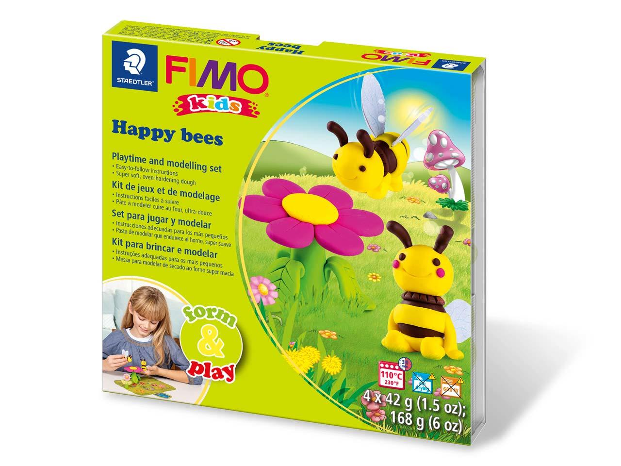 Box for FIMO Happy Bees modelling kit