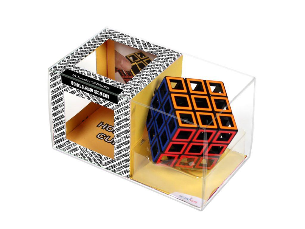 Hollow Cube puzzle in manufacturer's packaging.