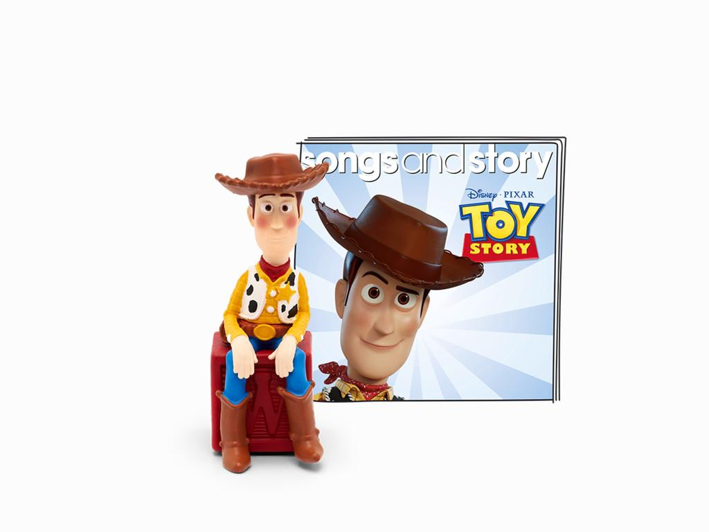 Booklet and Woody figure for Toy Story Tonie.