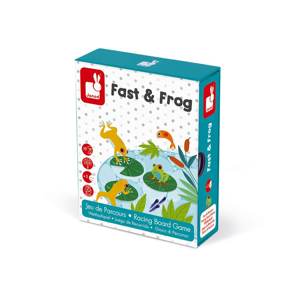 Box holding Fast & Frog racing game