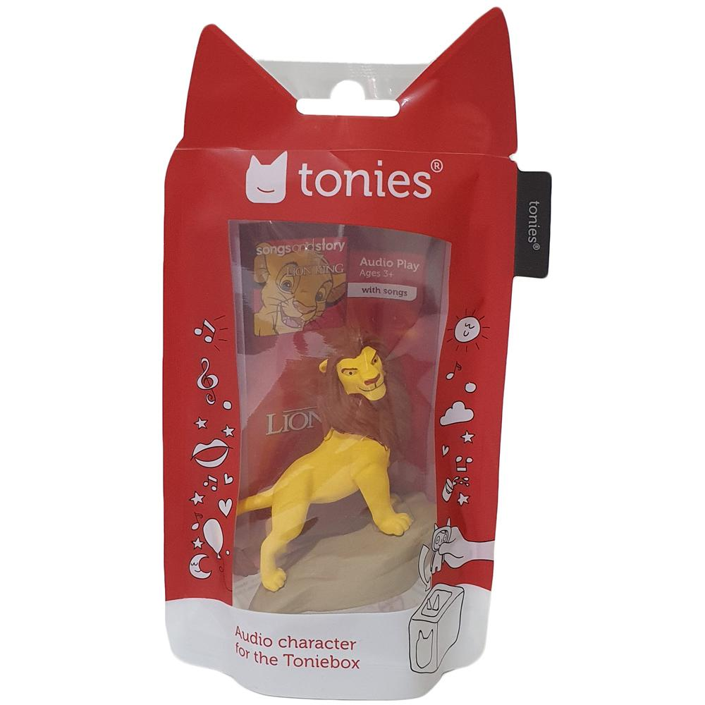 Packaging for Lion King Tonie.