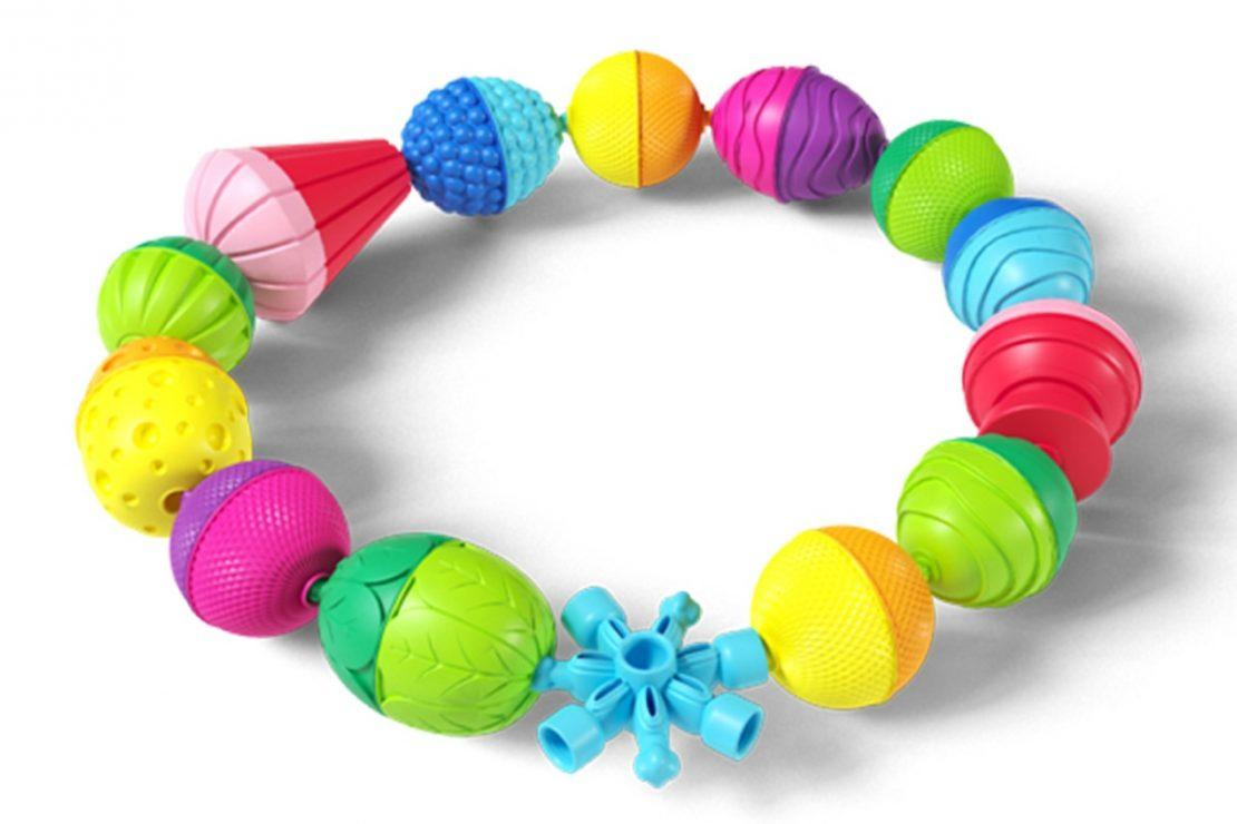 Lalaboom laced beads for young children.