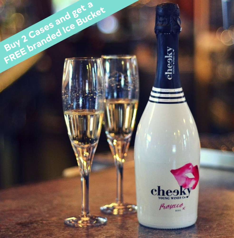 Introducing Cheeky Prosecco!