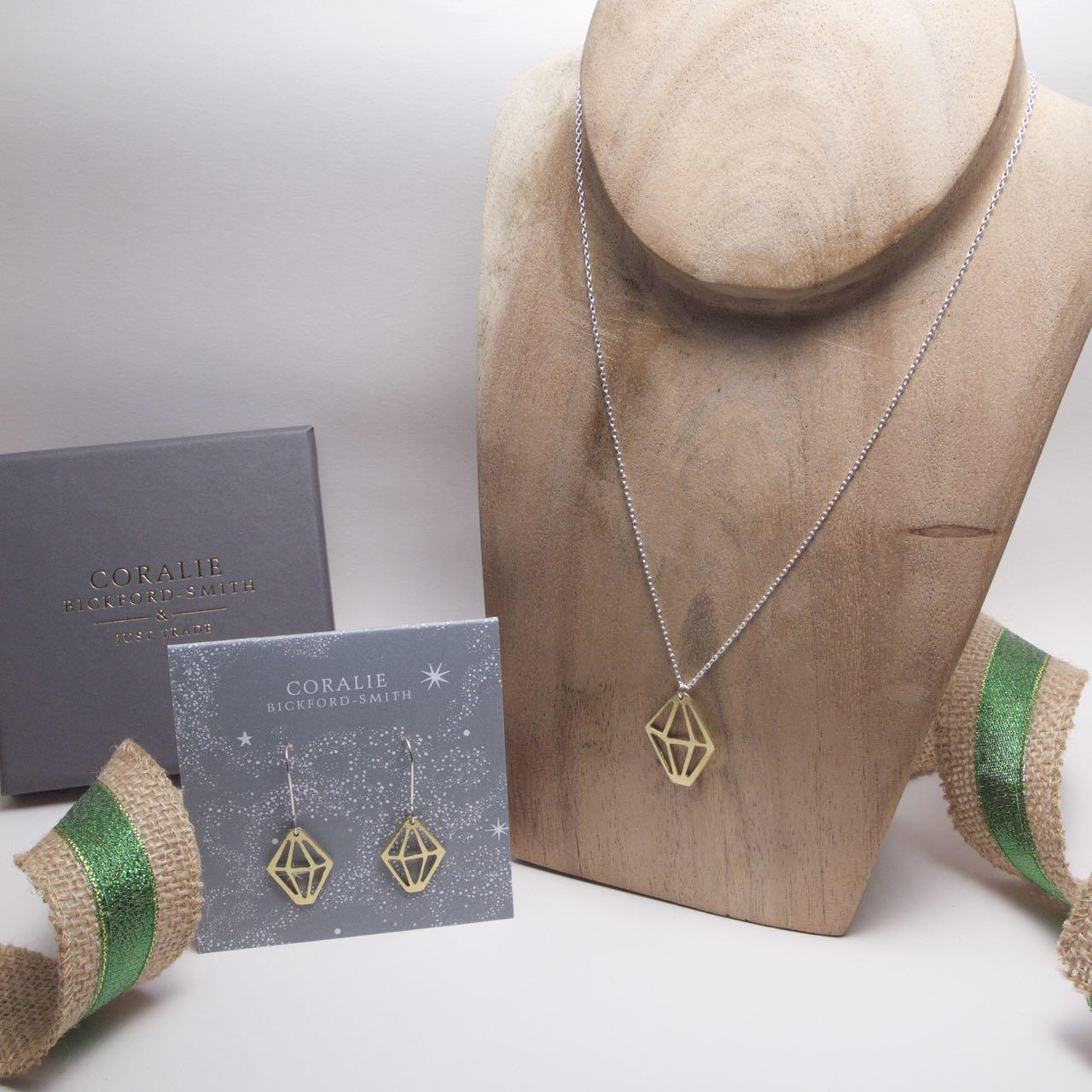 Coralie Crystal Jewellery set
