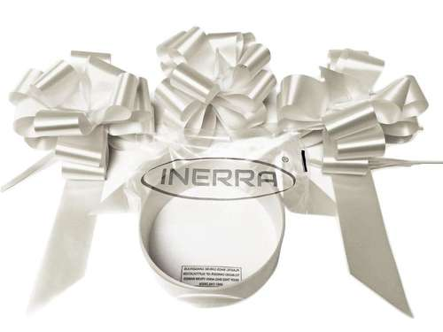 white wedding car decoration kit ribbon and bows