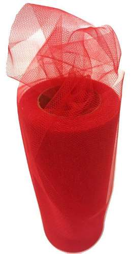 red tulle fabric netted netting fabric