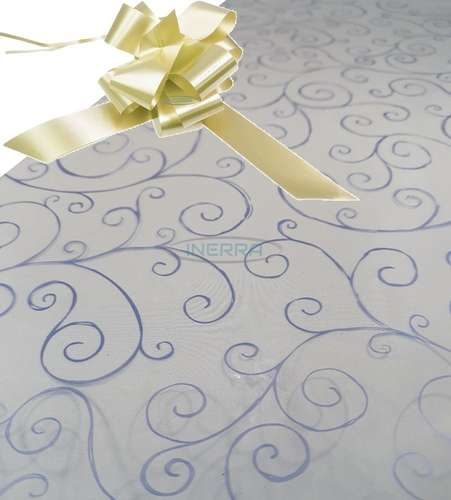 cream hamper wrapping kit cellophane wrap bow