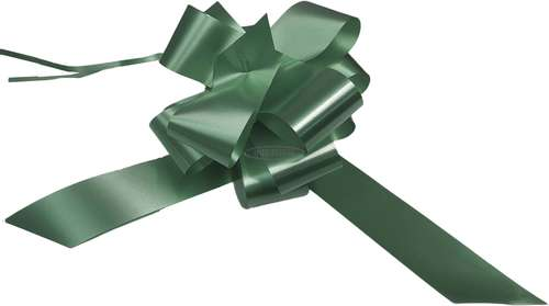 hunter green florist pull bows