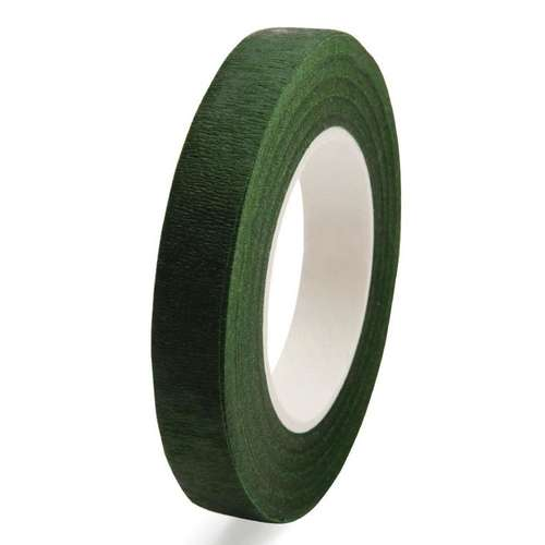 dark green buttonhole tape stem tape