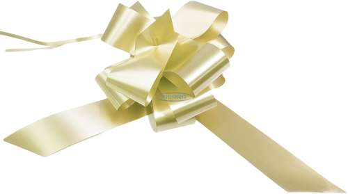 cream wedding bows gift hamper