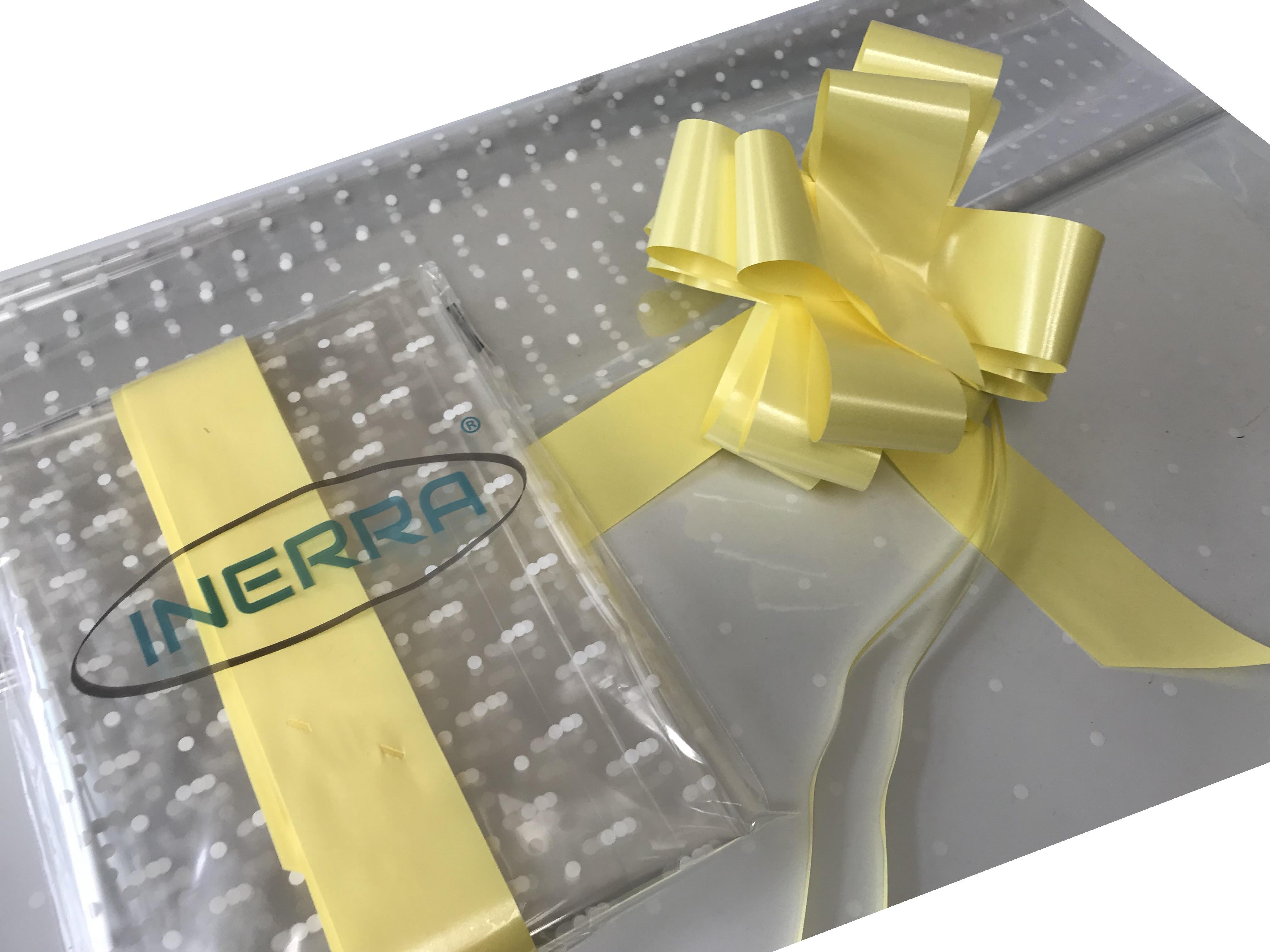 lemon hamper wrapping kit gift basket christmas cellophane wrap and bow