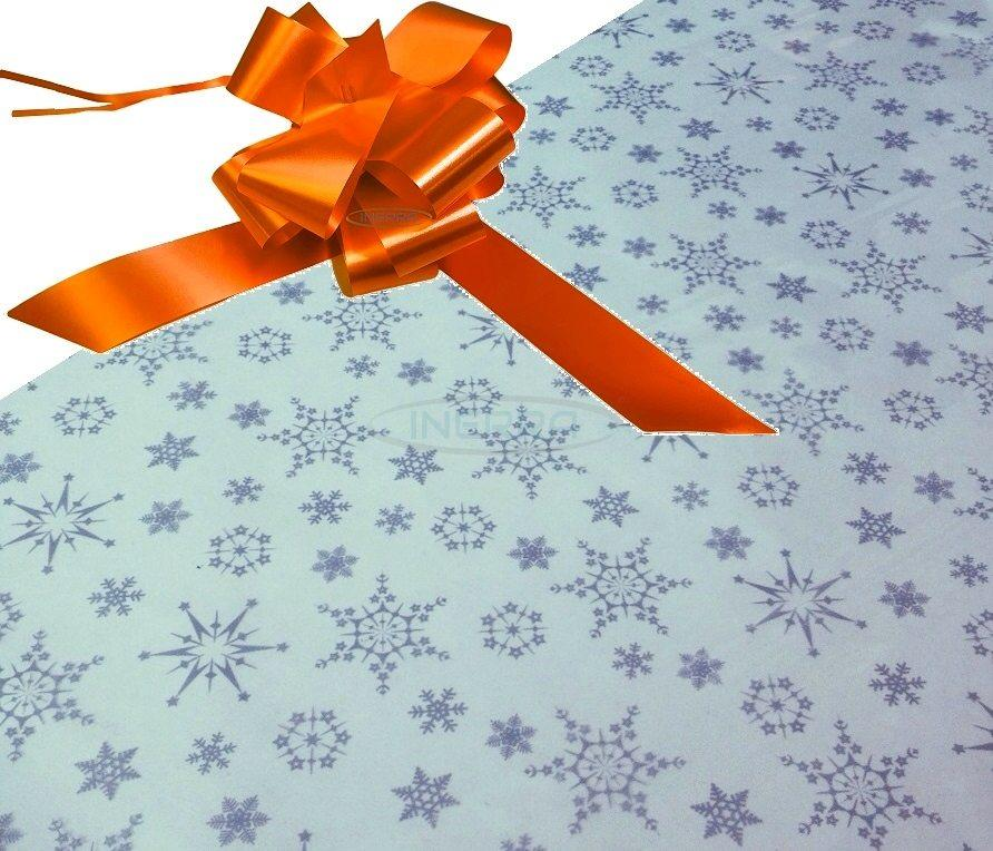 orange hamper wrapping kit cellophane bow christmas