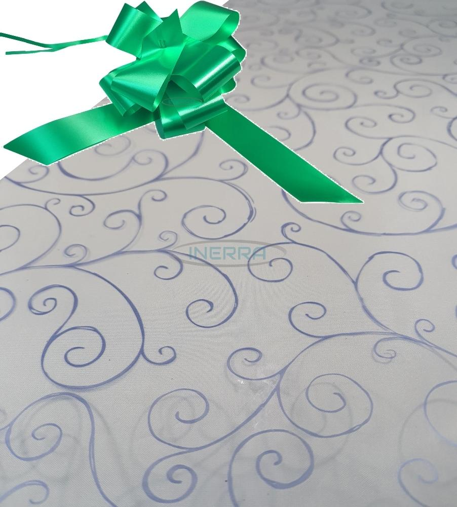 emerald green hamper wrapping kit cellophane wrap bow