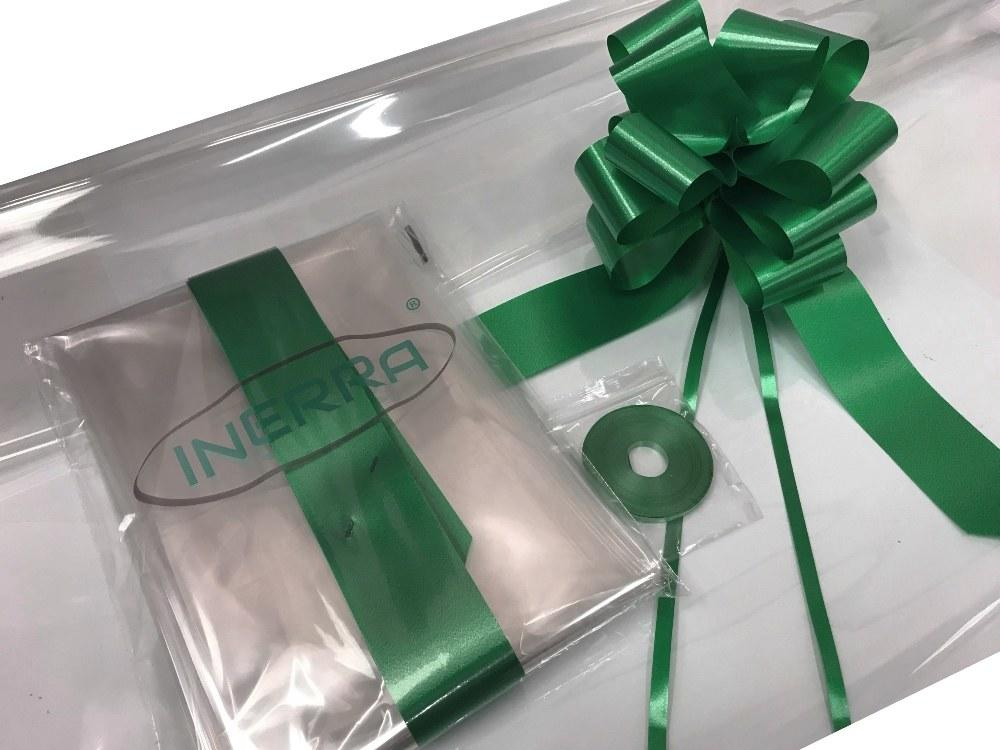 hunter green hamper wrap kit