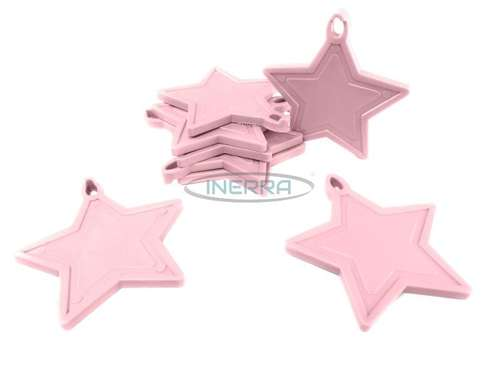 lilac star balloon weights