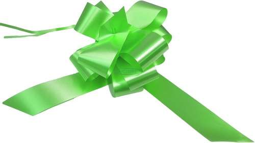 lime green  wedding bows gift hamper