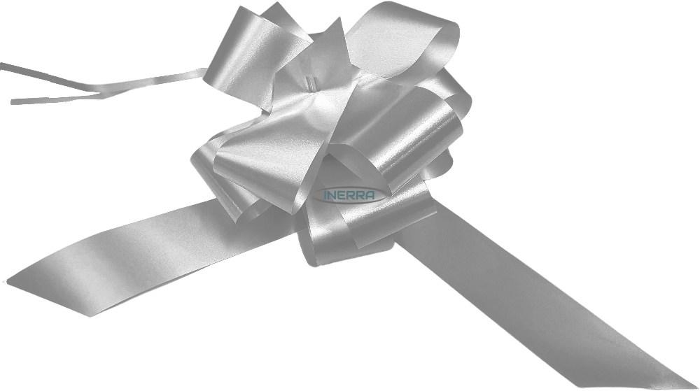 silver  wedding bows gift hamper