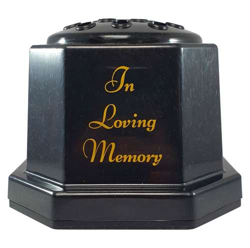 memorial pot in loving memory